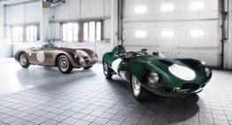Jaguar Announces Vintage Racing Team