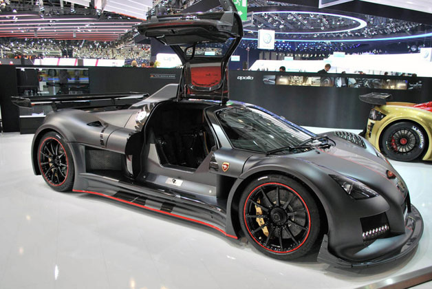 "Gumpert Apollo gets ""Enraged"" in Geneva"