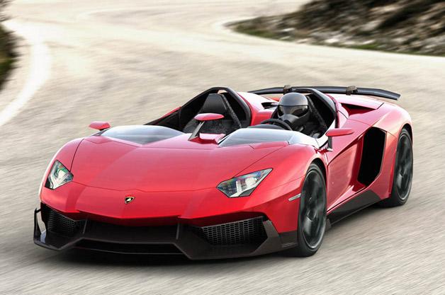 Lamborghini Unleashes Aventador J