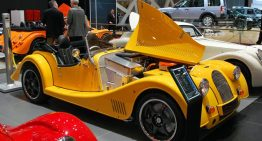 Morgan Debuts Vintage Style Electric Roadster