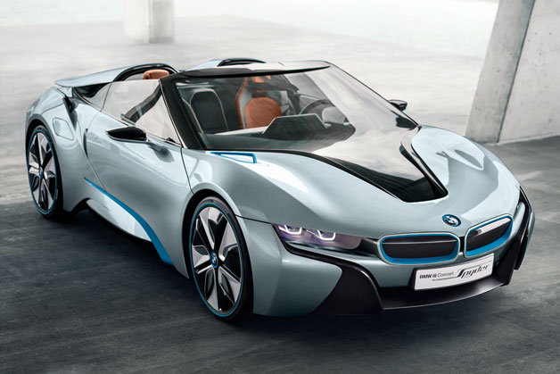 BMW-i Debuts New Spyder Concept