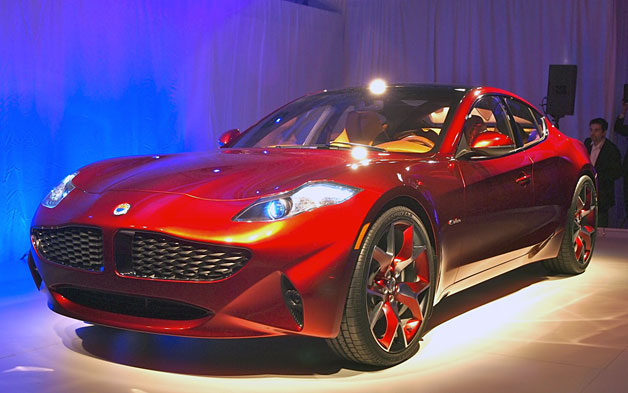 Luxury Fisker Atlantic Hybrid Debuts in NYC