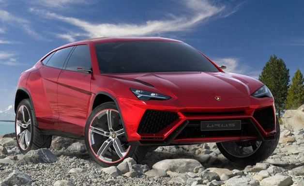 Lamborghini SUV Images Leak Ahead of Beijing