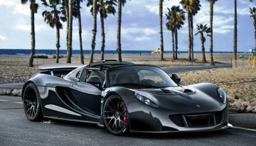 Venom GT Supercar Hits the Road