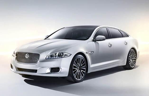 Jaguar Debuts Luxury XJ in Beijing