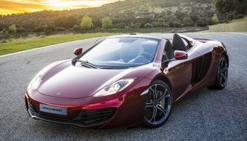 New McLaren Spider Convertible Debuts