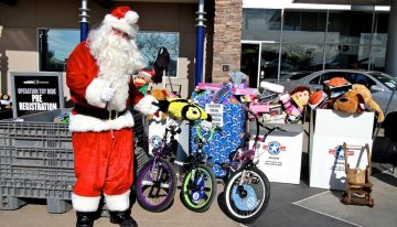 Joy Ride for Toys this Weekend