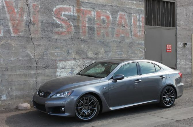 Stick Shift: 2014 Lexus IS F