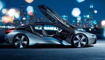 The Sexy and Innovative BMW i8 Leaves Envy Wherever It Drives