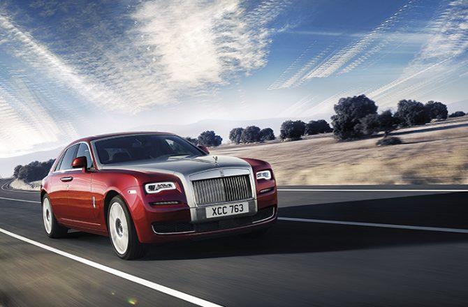 Stick Shift: Rolls-Royce Ghost Series II