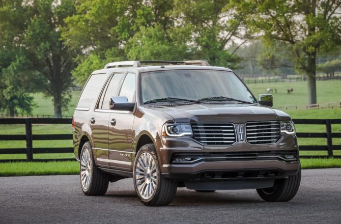 Stick Shift: 2015 Lincoln Navigator
