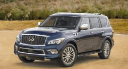 Stick Shift: 2015 Infiniti QX80