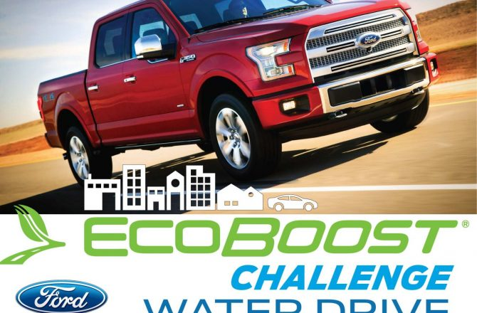 Ford EcoBoost Challenge Bottled Water Drive