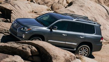 Stick Shift: 2015 Lexus LX 570