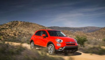 Stick Shift: 2016 Fiat 500x