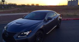 Stick Shift:  2016 Lexus RC-F
