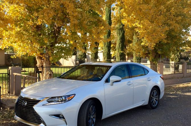 Stick Shift: 2016 Lexus ES