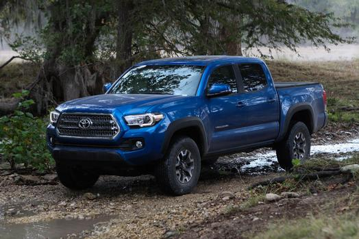 Stick Shift: 2016 Toyota Tacoma