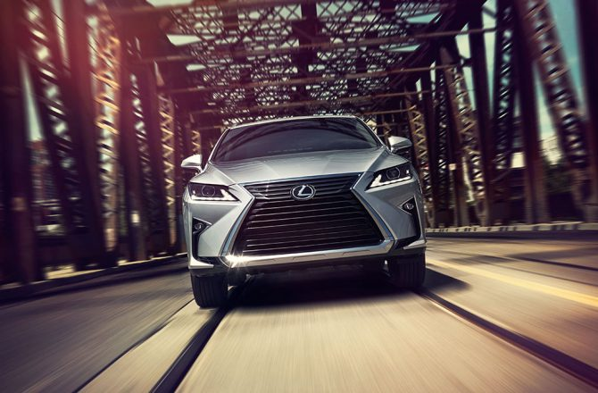 Stick Shift: 2016 Lexus RX350