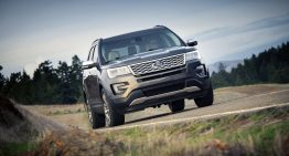 Stick Shift: 2016 Ford Explorer Platinum