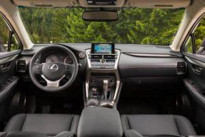 2016 Lexus NX interior