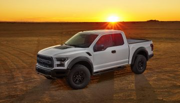 2017 Ford Raptor Burns It Up