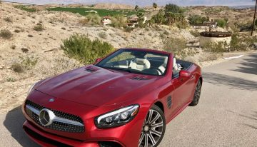 Stick Shift: Mercedes-Benz SL450 Roadster
