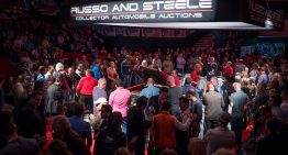 Russo and Steele's Auction Excitement at Salt River Fields