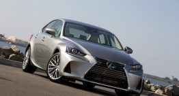 Stick Shift: 2018 Lexus IS300