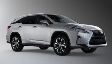 Stick Shift: 2018 Lexus RX 350L