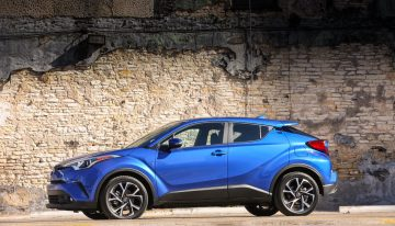 Stick Shift: 2019 Toyota C-HR XLE Premium
