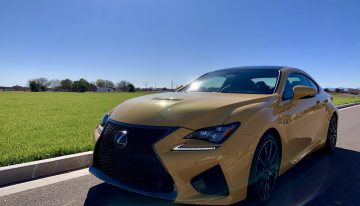 Stick Shift: 2019 Lexus RCF