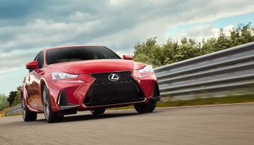 Stick Shift: 2019 Lexus IS 350 F Sport