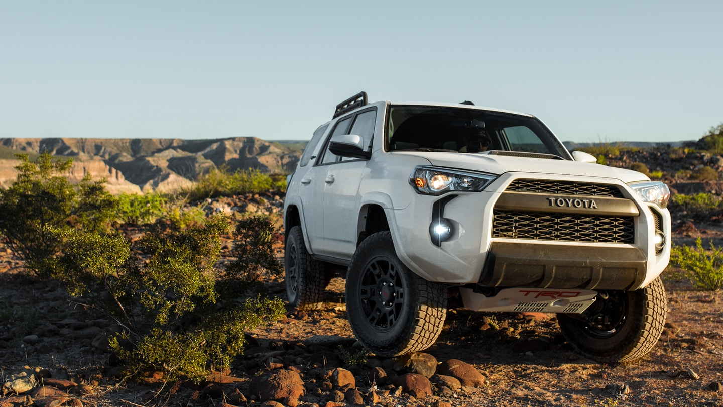 Stick Shift 2019 Toyota 4runner Trd Pro