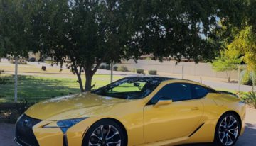 Stick Shift: 2020 Lexus LC 500 V8
