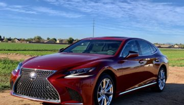 Stick Shift: 2020 Lexus LS 500h