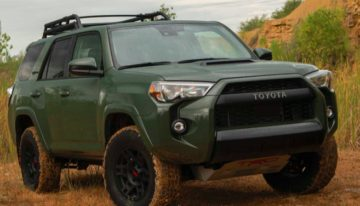 Stick Shift: 2020 Toyota 4Runner TRD Pro