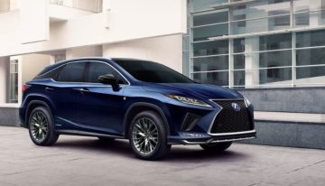Stick Shift: 2020 Lexus RX 450 Hybrid F Sport