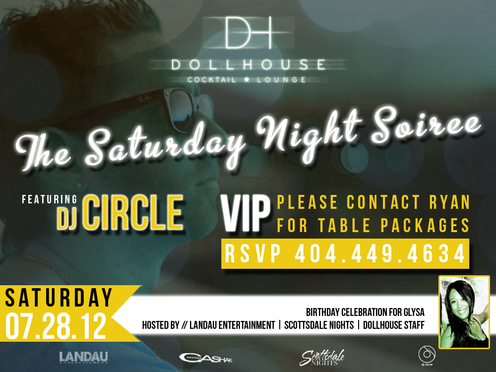 The Saturday Night Soiree Featuring DJ Circle