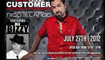 Smashboxx Customer Appreciation Night Featuring DJ Bizzy & Rico DeLargo