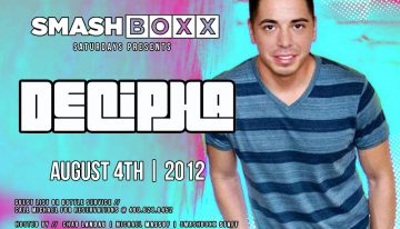 Smashboxx Saturdays feat. DJ Decipha