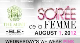 "Soiree de la Femme ""Wednesdays We Wear Pink"""