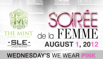 """Soiree de la Femme """"Wednesdays We Wear Pink"""""""