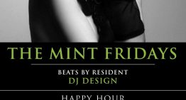The Mint Fridays with DJ Design