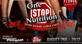 One Stop Re-Grand Opening Launch Party feat. Nathan Reeser & Will Power