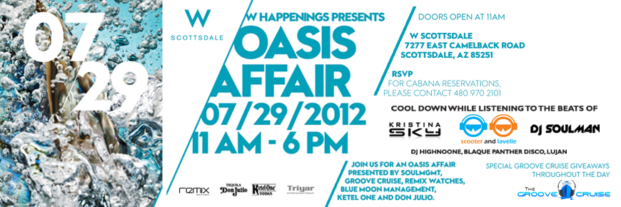 The Oasis Pool Party