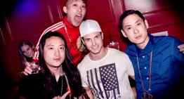 Far East Movement spotted at Smashboxx
