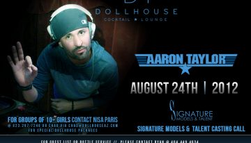Signature Models & Talent Search feat. DJ Aaron Taylor