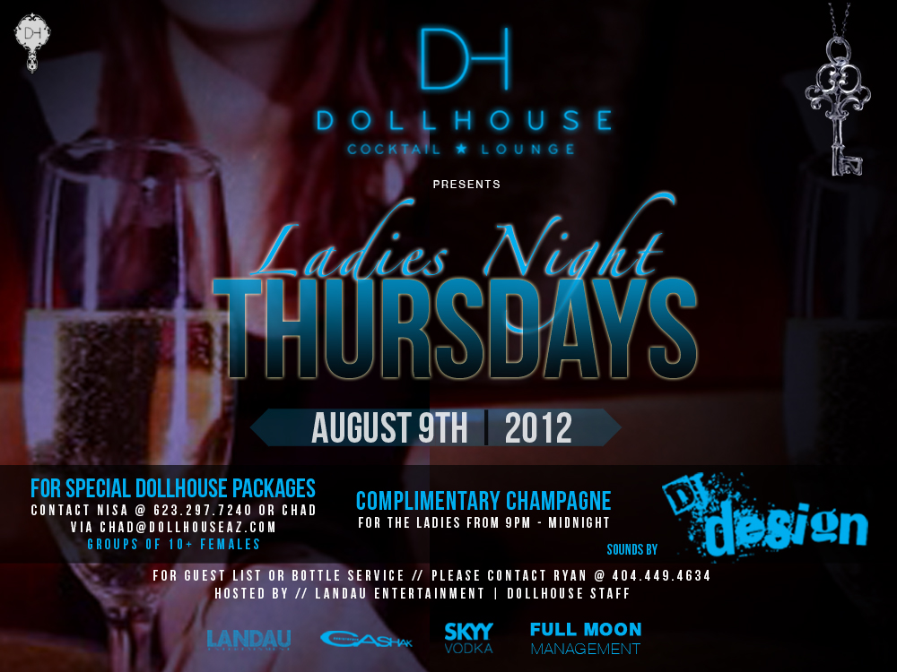 Ladies Night Thursdays Feat. Dj Design