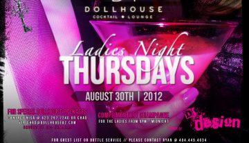 Ladies Night @ Dollhouse